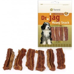 Dr. Jag Meaty Snack - Smoked bacon strips, 70g