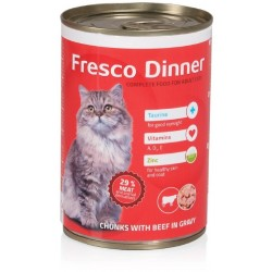 Fresco Dinner cat hovězí 415g