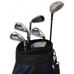 Set holí HIT II ocel - 5,7,9,SW, Putter, Wood 5 + Bag