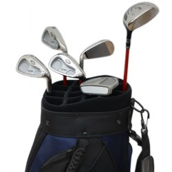 Set holí Speed ocel - 5,7,9,SW, Putter, Wood 5 + Bag